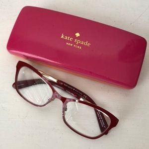 NWOT kate spade melone metal eyeglass frames
